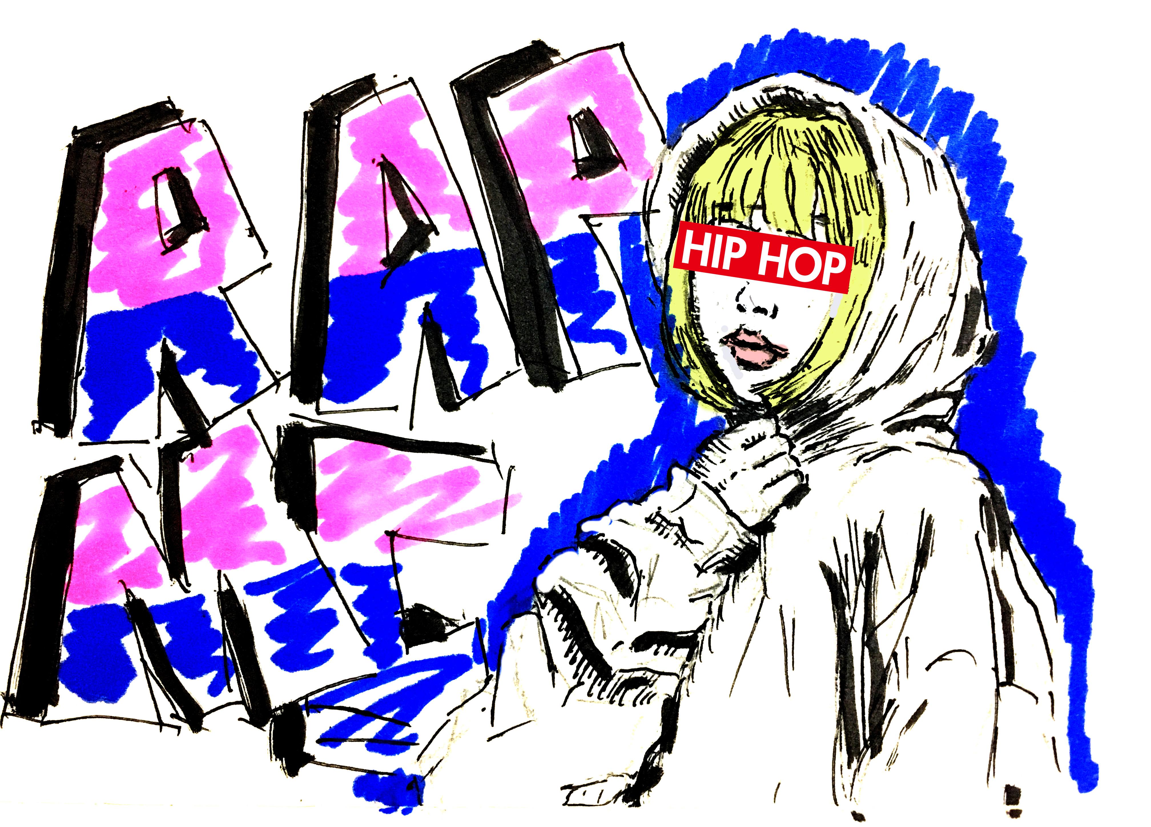 日本におけるヒップホップ文化が急激に浸透してきている